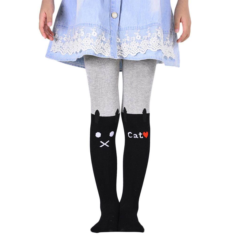 Bayi Anak-anak Gadis Kapas Lucu Kucing Tights Kaus Kaki Stoking Celana Hosiery Pantyhose-