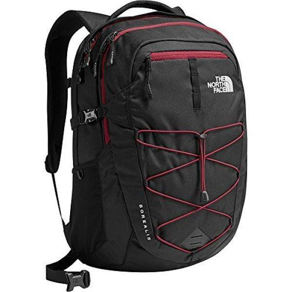 4fbb902148e The North Face TNF Black Red Borealis Classic Backpack