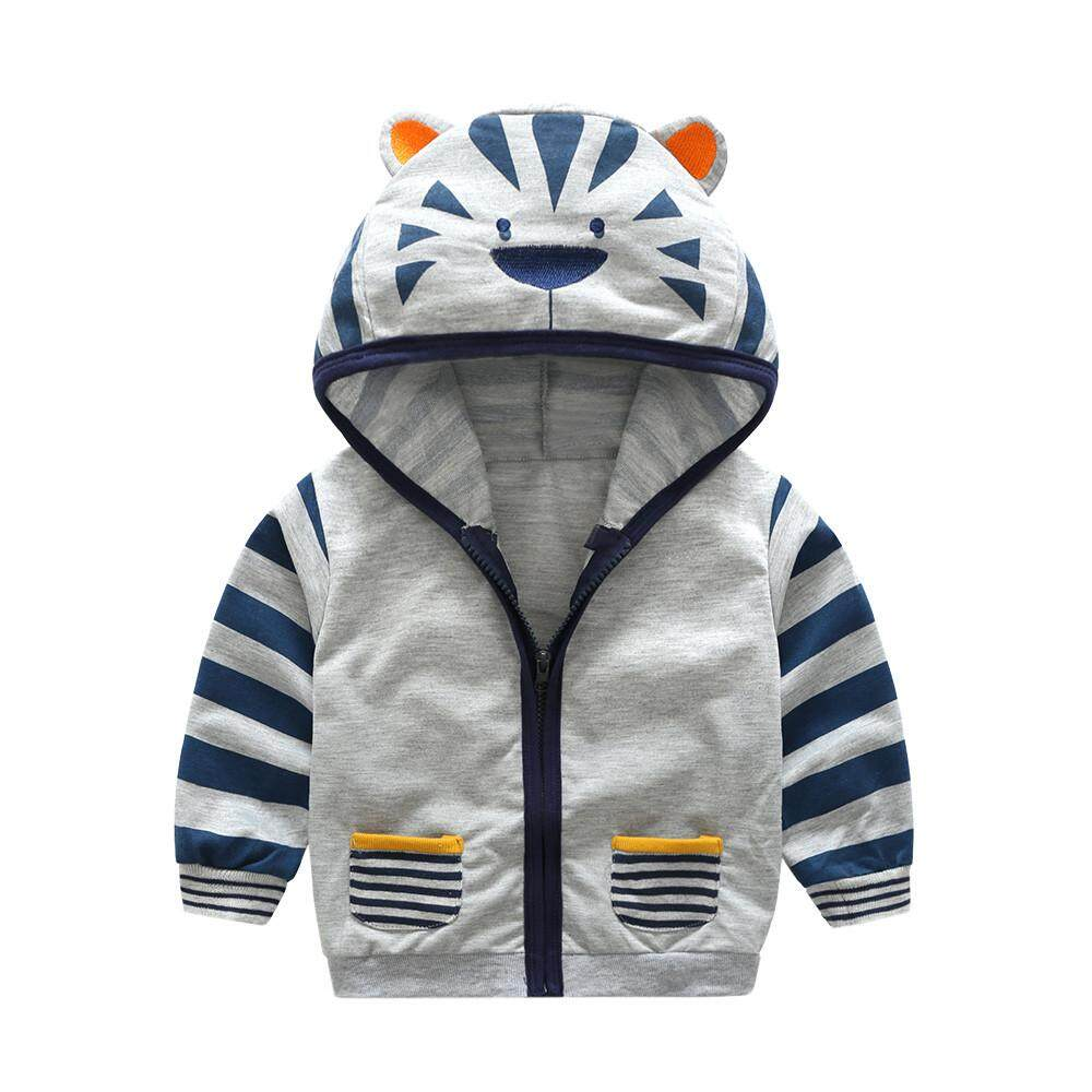 bf9fa928caf6 Dotsonshop Free shipping Infant Toddler Kids Baby Boy Girl Cartoon Animal  Hooded Zipper Tops Clothes Coat
