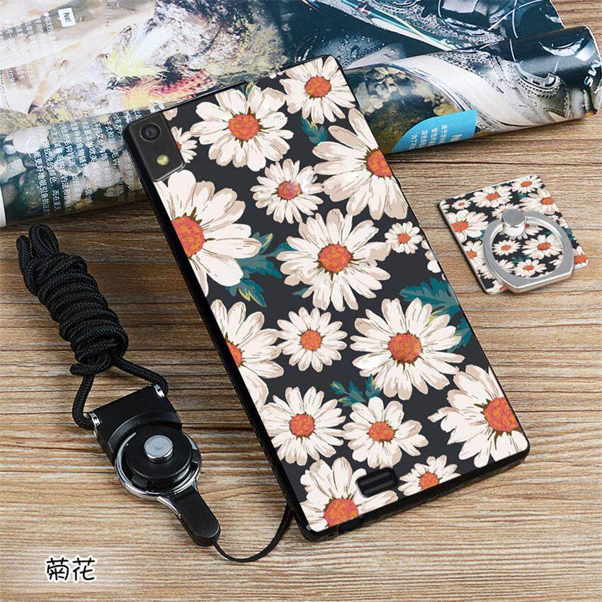 Soft Silicone TPU Painted phone case For Gionee Elife S5.5 / GN9000L / 5.0