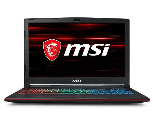 (NEW) MSI GP63 Leopard 8RE-077US Gaming Notebook, i7-8750H, GTX 1060 6GB, 16GB RAM, 256GB SSD + 1TB HDD, 15.6″, Windows 10 Malaysia
