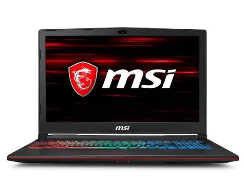 (NEW) MSI GP63 Leopard 8RE-077US Gaming Notebook, i7-8750H, GTX 1060 6GB, 16GB RAM, 256GB SSD + 1TB HDD, 15.6″, Windows 10 Malaysia