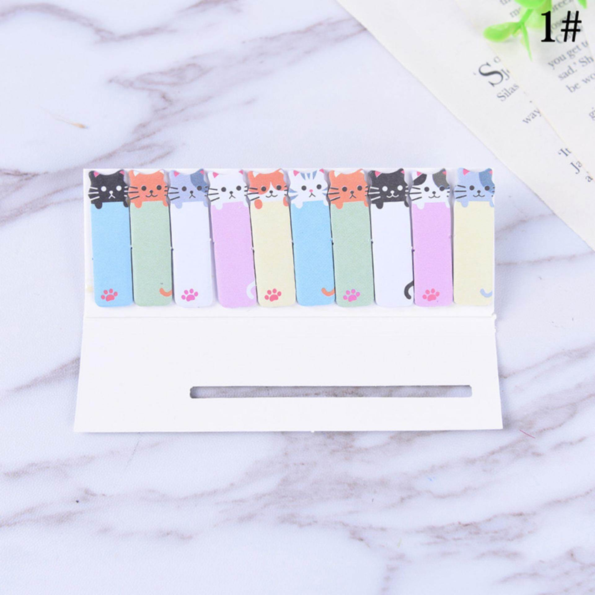 Mua Stationery Student Tool Cartoon Office Notes Supplies Cute Funny Cat Style Sticker 1# - intl