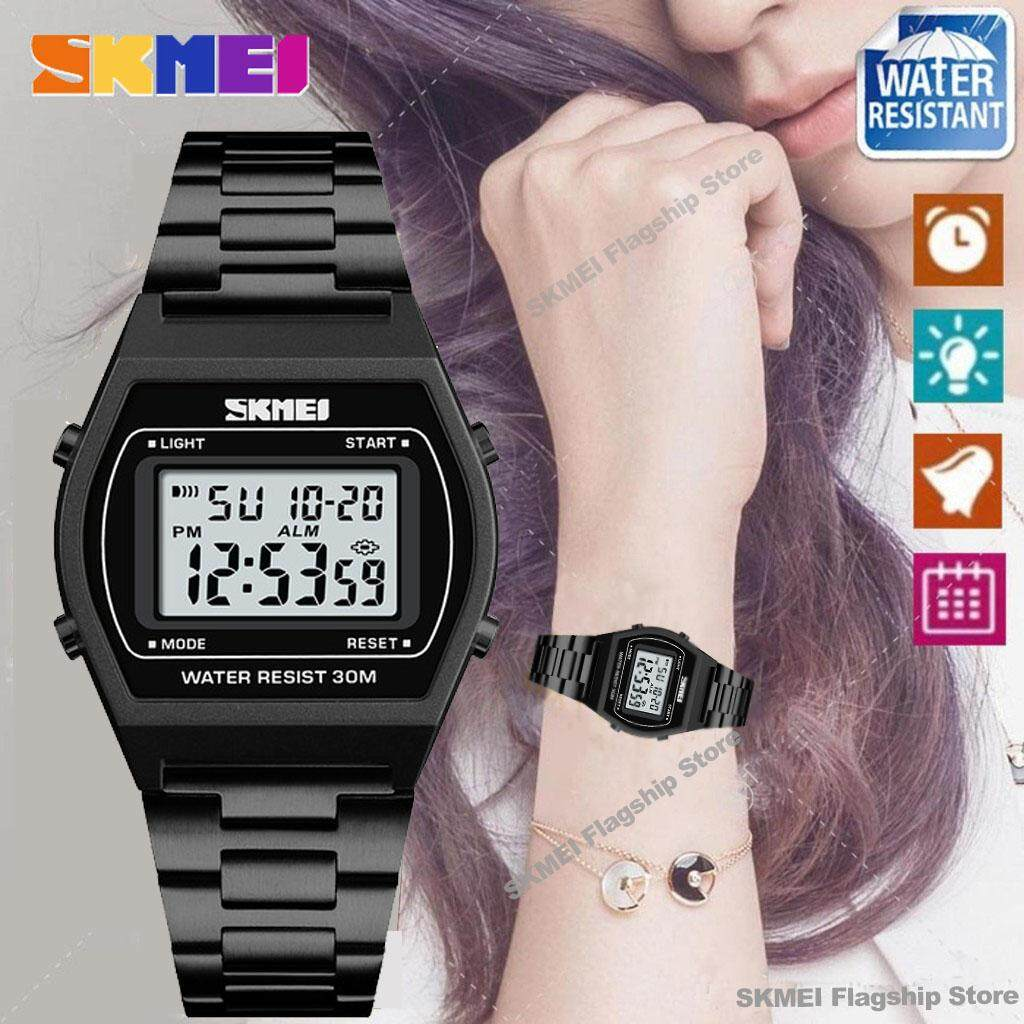 Skmei Watches Philippines Wristwatches For Sale Prices Jam Tangan Digital Analog Ad1016 Black Reviews Lazada