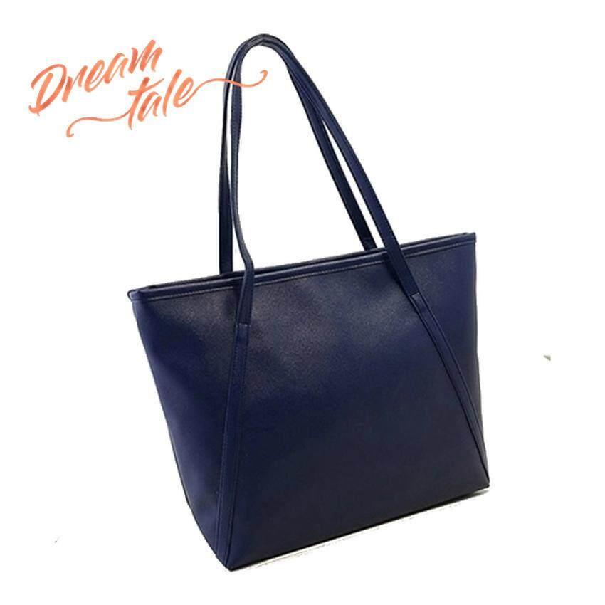 Dreamtale Tote Bag Korea Fashion Glamour Design Pu Leather Classic Large Capacity With