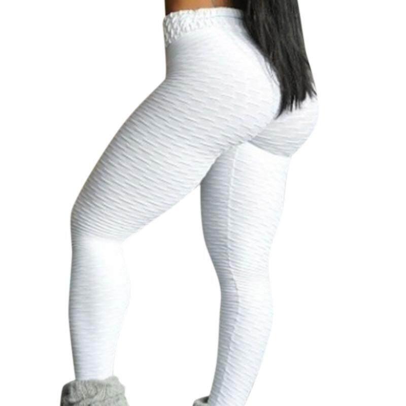 SYD # Nữ Thoáng Khí Hông Nâng Mồ Hôi Absorbtion Quần Legging Dạ Nỉ Tập Yoga