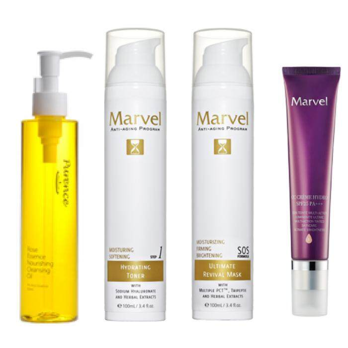 Marvel Anti Aging Skincare Package (Super Value)