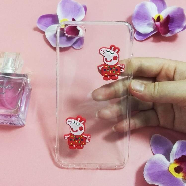 Case for Sony Xperia M5 piggy cute pig pattern Transparent soft tpu slim Ultra thin shockproof