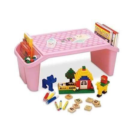 Child Kid Desk Table Children Furniture Drawing Studying Tables (Pink)