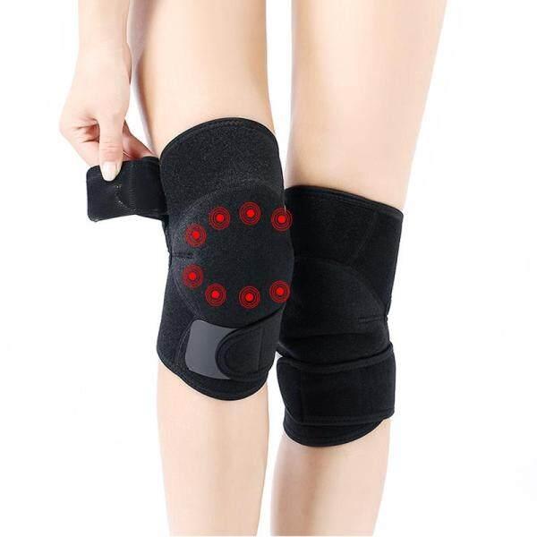 Kaload 1 cặp Tourmaline tự sưởi ấm đầu gối Pad hồng ngoại từ trị liệu tự phát sưởi ấm Pad thể dục thiết bị bảo vệ-