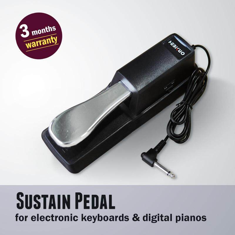 [100% Brand New & Ready Stock] Hebikuo TB100 Sustain Pedal compatible w/all electronic keyboards & digital pianos Malaysia