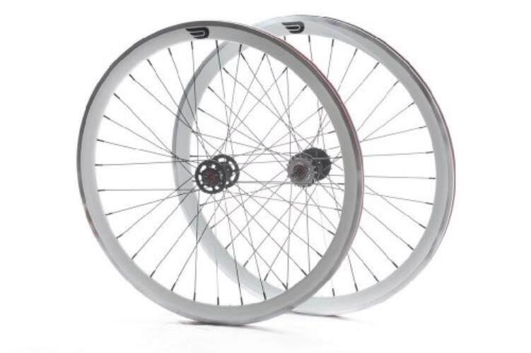Pure Fix 700C 30mm Machined Pro Wheelset, White