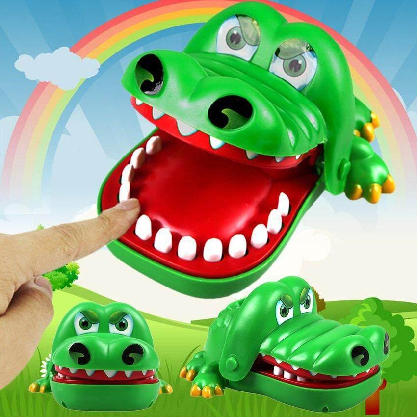 Besar Buaya Mulut Dokter Gigi Gigitan Jari Game Mainan Lucu Hadiah