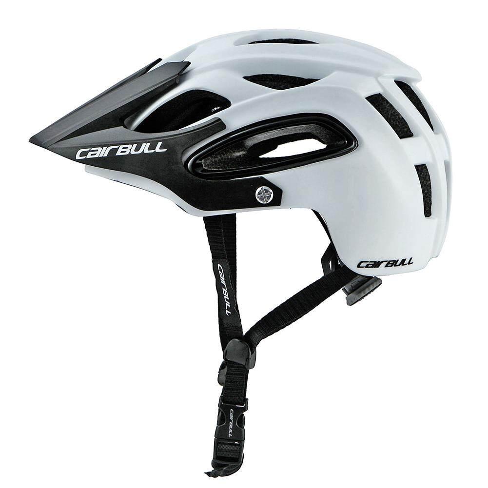 Rumah Besar Shock-Proof Helm Sepeda Terintegrasi Molding Helm Sepeda Berongga untuk Pria Wanita Jenis: putih (M (54-58 Cm))