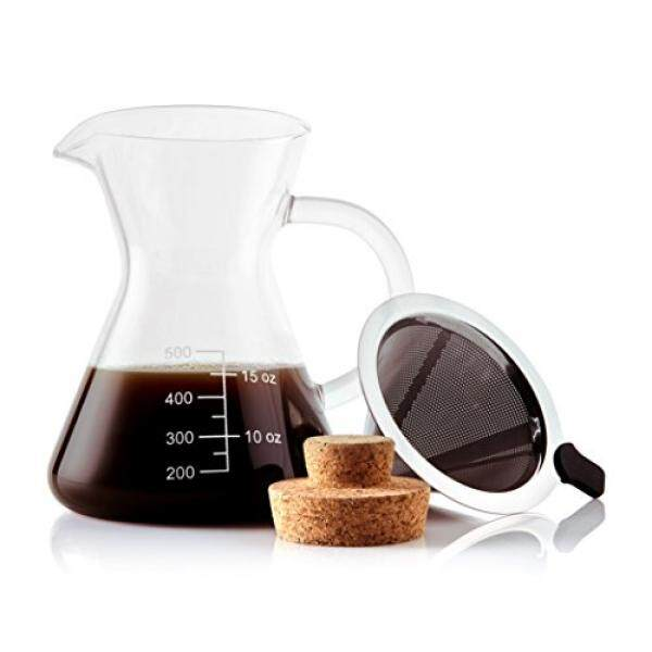 Coffee machine parts for sale coffee maker accessories prices apace living pour over coffee maker and coffee scoop coffee dripper with glass carafe fandeluxe Images