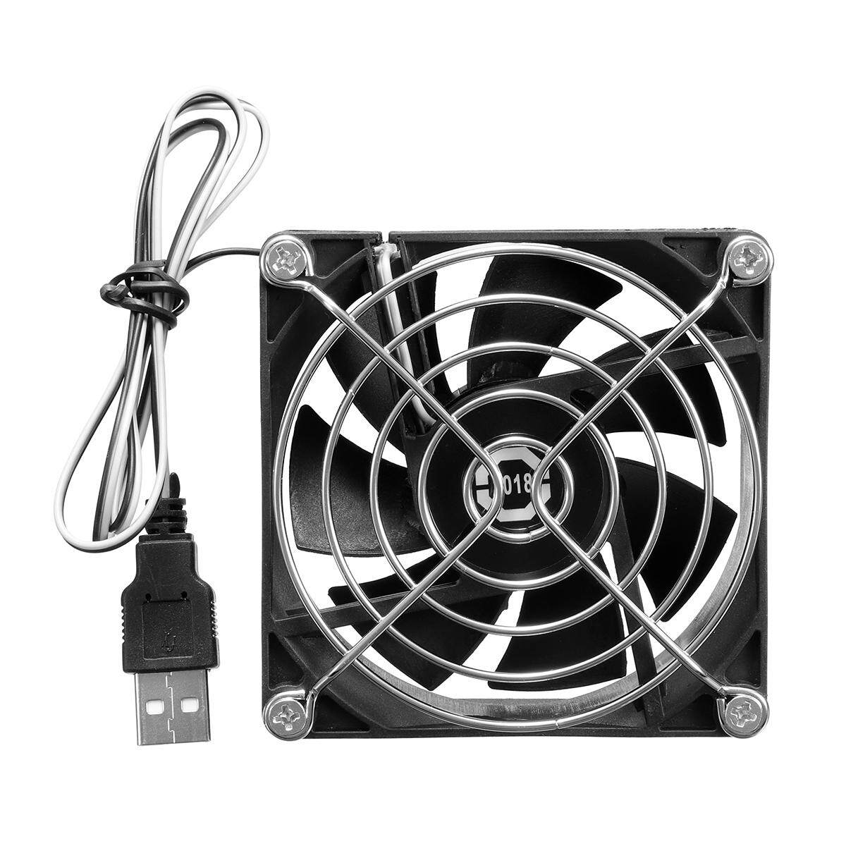 Computer Fan Portable 80mm USB Cooler 5V Small PC Fan Cooling UK Fast Delivery
