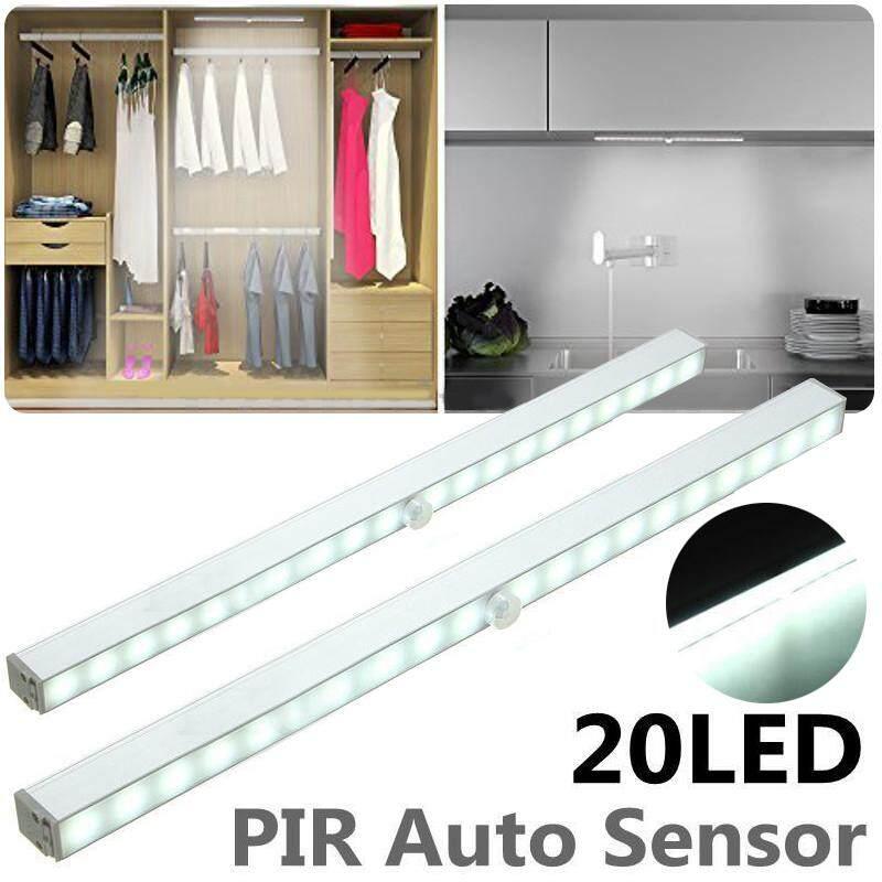 idealhere 20 LED Wireless PIR Auto Motion Sensor Night Light Closet Cabinet Stair Lamp