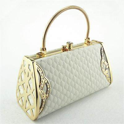 Women Diamond-Encrusted Evening Bag Lady Handbag Cosmetic Bag