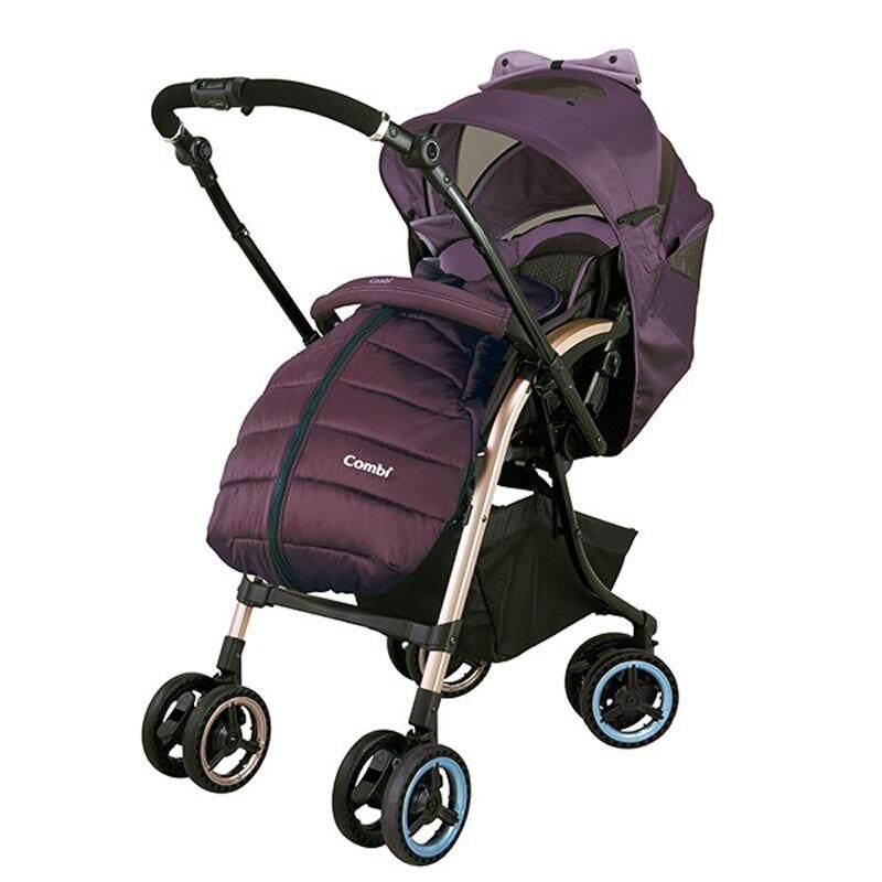COMBI JAPAN Miracle Turn Elegant Stroller Auto 4 swivel wheels Bordeaux Purple