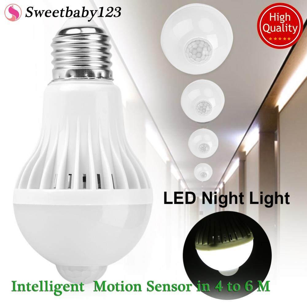Features Teekeer Infrared Motion Light Sensor Socket Pir Automatic Led E27 Intelligent Detection Lamp Bulb 5w