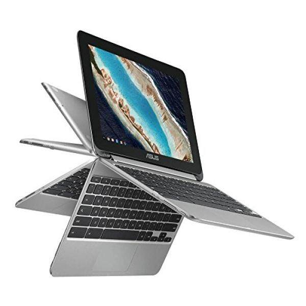 2018 Newest Premium High Performance Asus 10.1 Touchscreen Flip 2-in-1 Chromebook Rockchip RK3399 Processor 4GB RAM 16GB eMMC Hard Drive 802.11AC WIFI HDMI Webcam Bluetooth Chrome OS-Silver - intl