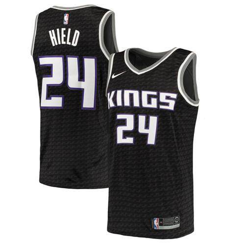 Nike Original Mens Sacrato Kings Buddy Hield 24 Black Swingman Basketball Jersey Statet Edition Global Sales Size S-2xl By Cprqctr.