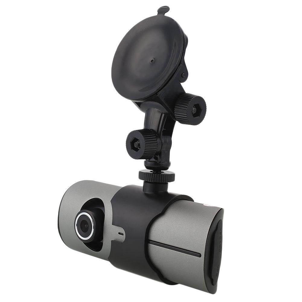 AUkEy Toko X3000/R300 2.7 ''Dua Lensa Mobil Dash 1080 P Modus Malam Kamera DVR Camcorder-Intl