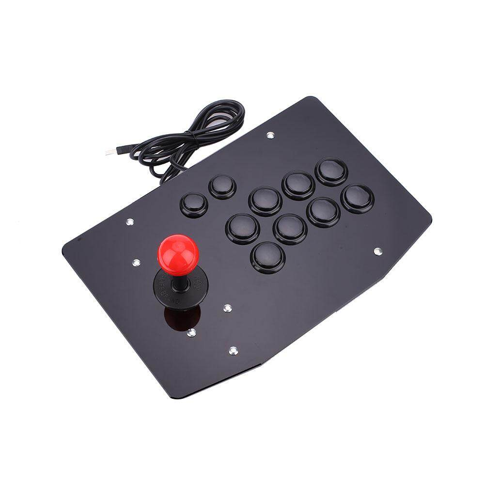USB Arcade Fighting Stick Joystick Gaming Controller Gamepad Video Game For PC - intl