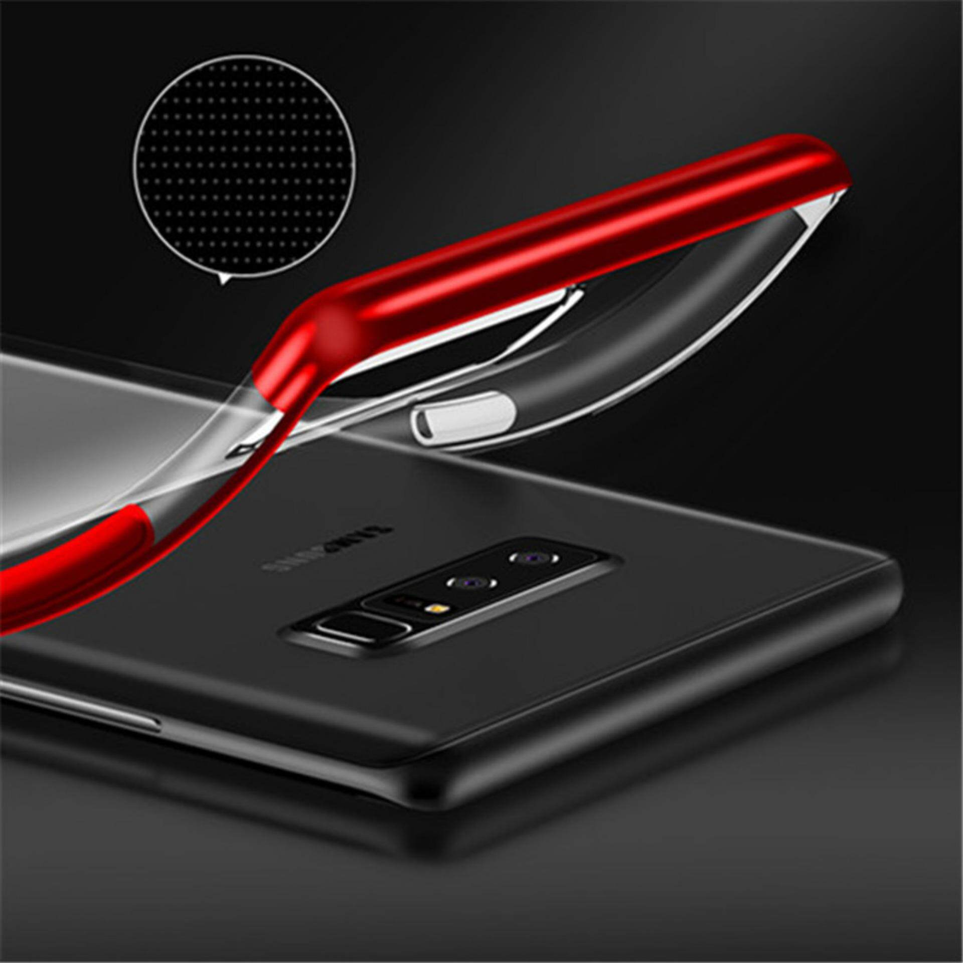 Fitur For Samsung Galaxy Note 9 Plating Transparent Ultra Slim Soft A5 Memo Bottle Doff Botol Minum Do Your Best Flat 420ml Detail Gambar Tpu Clear Back Case Cover Intl Terkini