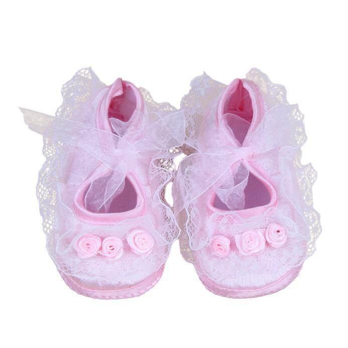 Radocie Bayi Digunakan Walker Shoes Rose Bunga Bayi Sepatu Bayi Alas Kaki Lembut PK 10