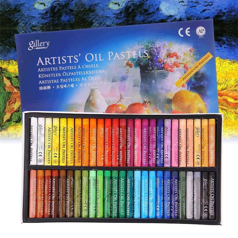 Rhs Online 50 Warna Bebas Racun Minyak Pastel Lembut Anak Galley Gambar Krayon Set Anak-Internasional By Rhs Online