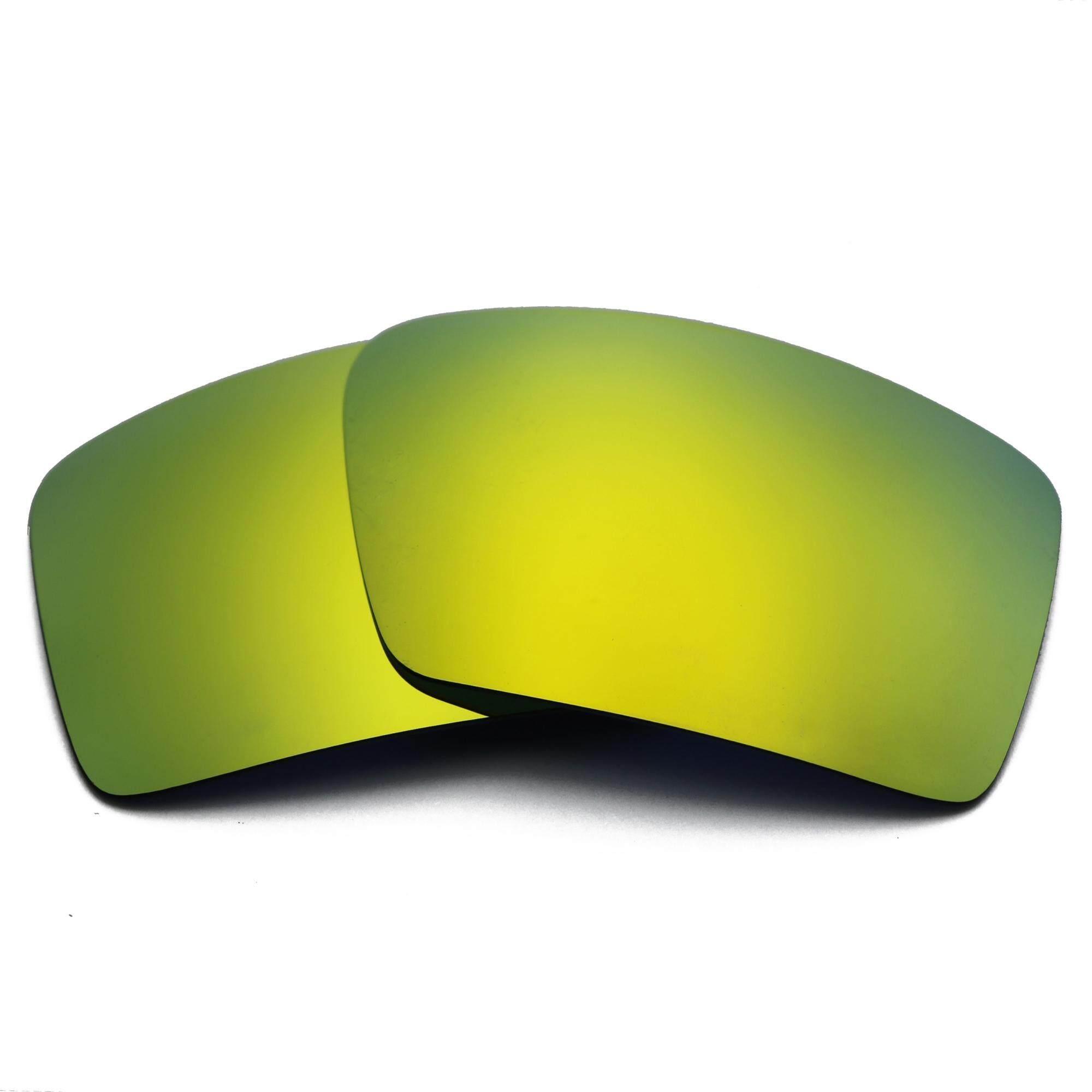 24 K Gold Cermin Lensa Pengganti untuk Kacamata Gascan Terpolarisasi Anti Air Asin Anti Debu-Intl