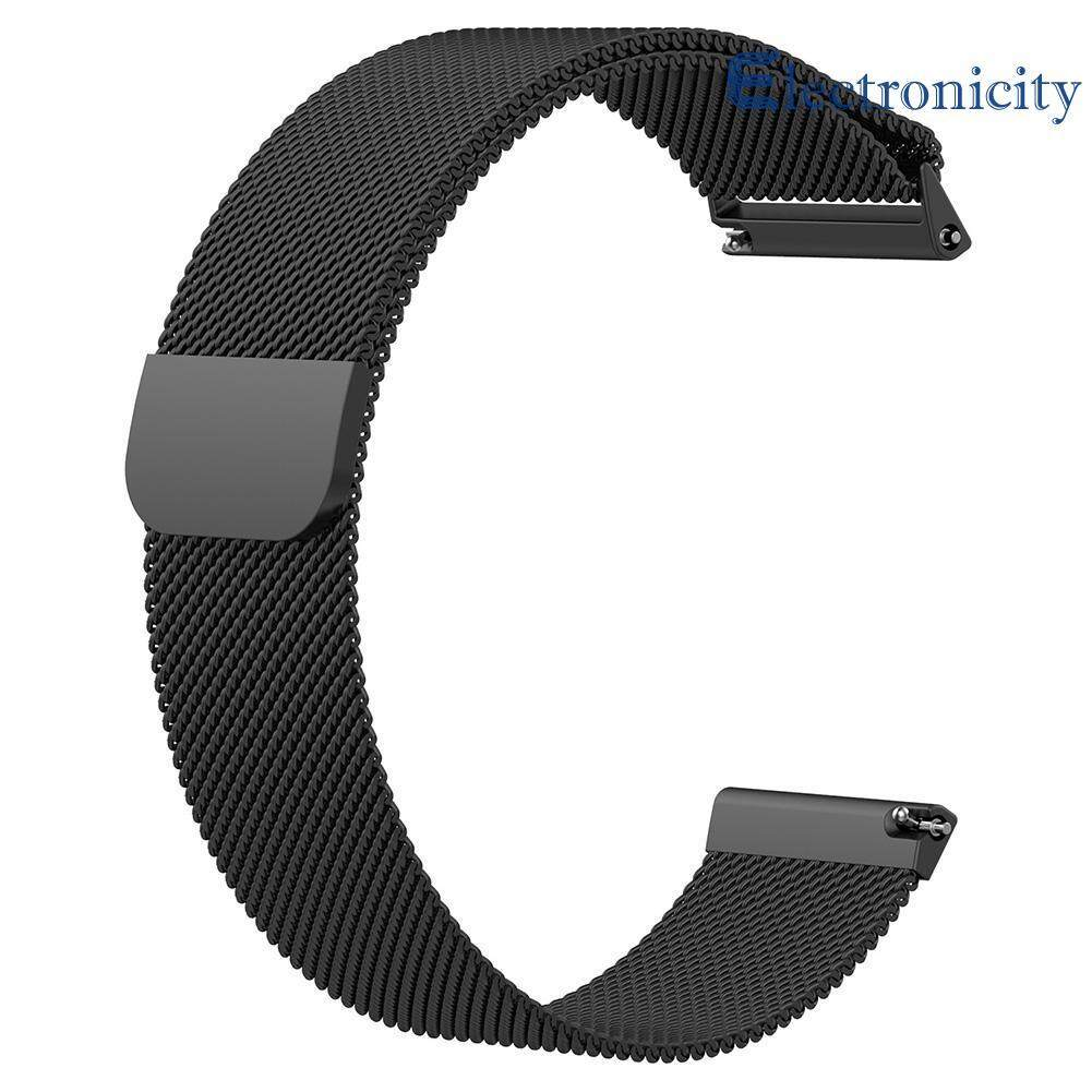 Milanese Magnetic Loop Stainless Steel Band Strap for Fitbit Versa Watch