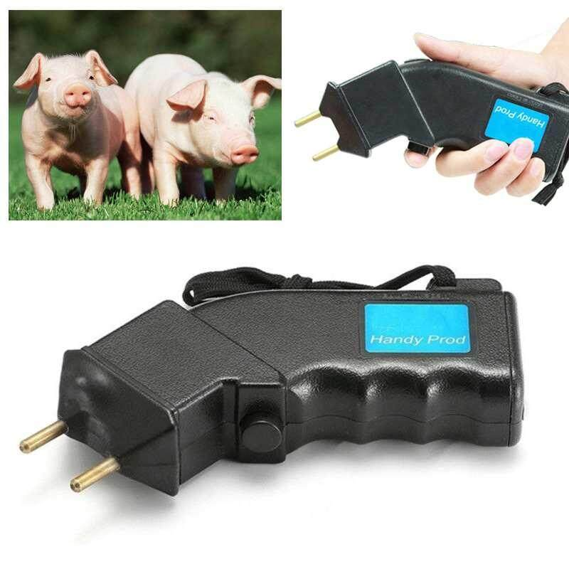 Electric Hand Cattle Prod Dairy Dogs Sheep Battery Power Prodder Animals - intl