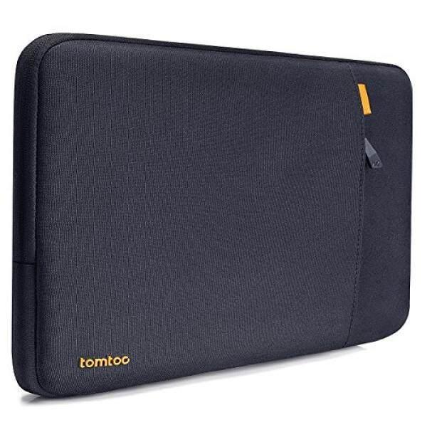 Tomtoc 360 ° Lengan Lengan Pelindung Case untuk DELL XPS 13, anti Guncangan Tahan Tumpahan 12.5 Inch Tas Tablet Laptop Case untuk ThinkPad X270 X260 X250 X240, mendukung Hingga 12.03X8.21 Dalam, Biru Hitam-Internasional