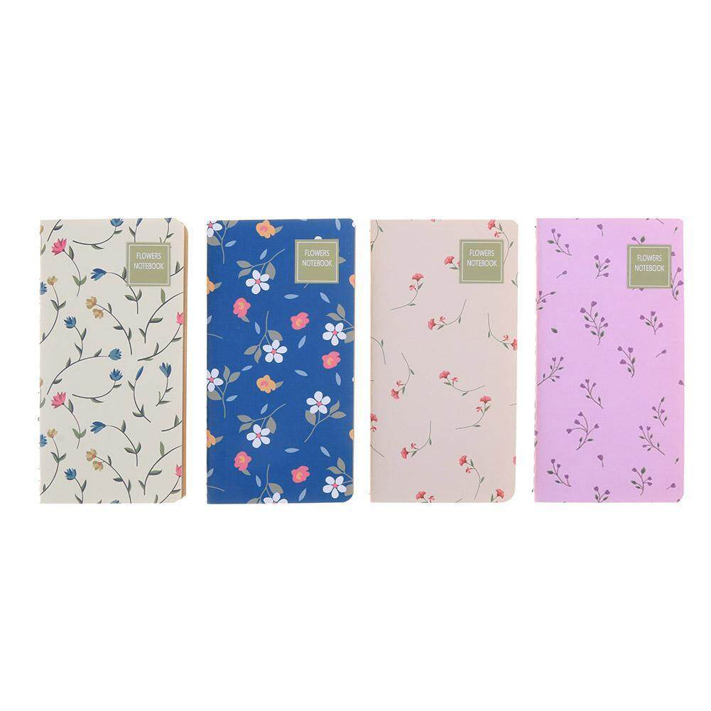 Mua 4pcs Retro Flower Notebooks Notepad Student Stationery Home Office Supplies(Multicolor)-2 - intl