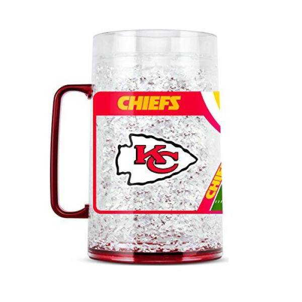 Duck House NFL Kansas City Chiefs 38oz Crystal Freezer Monster Mug - intl