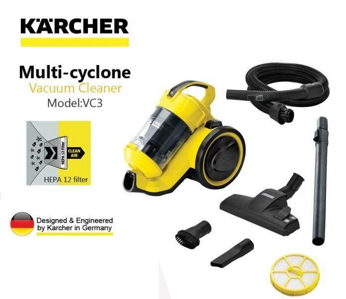 Karcher VC3 Bagless True Multi Cyclone Vacuum Cleaner