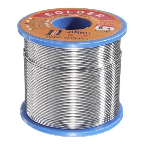 JINHU 250g 0.8mm 60/40 Rosin Core Solder Welding Iron Wire Tin Lead 2% Flux Reel Tube