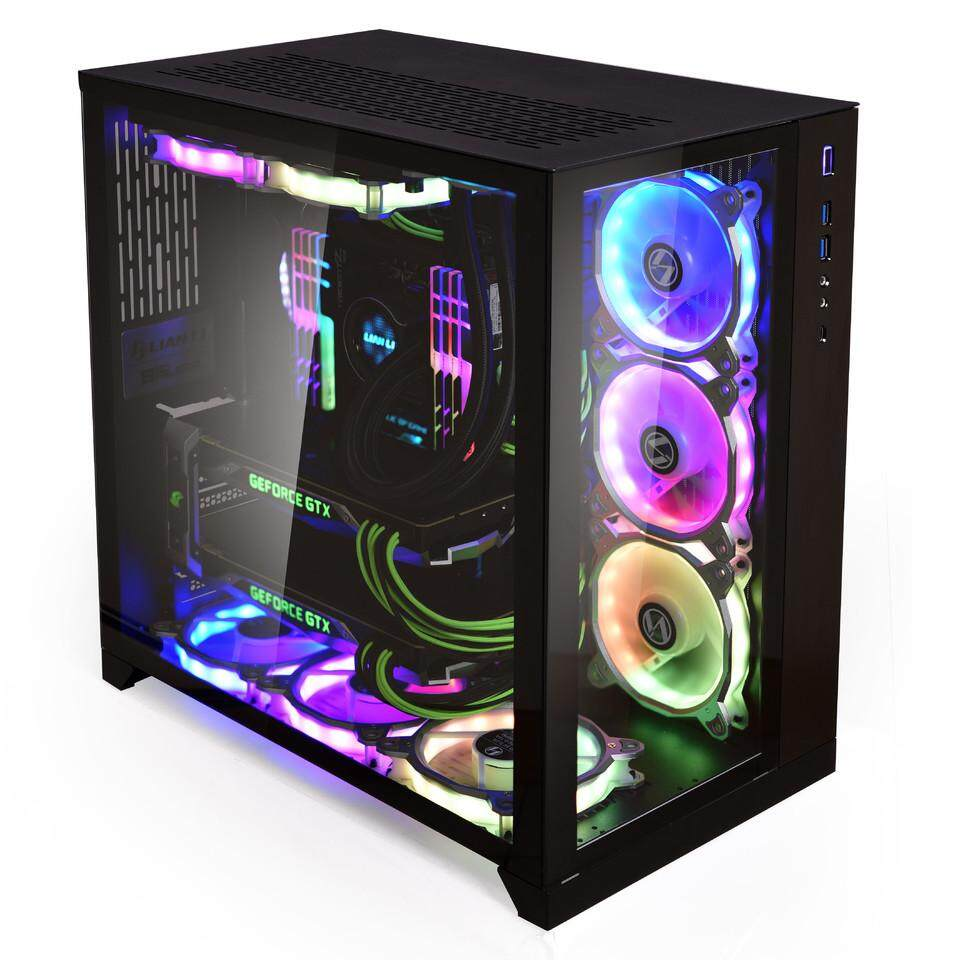 Lian Li PC-O11 Dynamic Tempered Glass E-ATX Casing - Black Malaysia