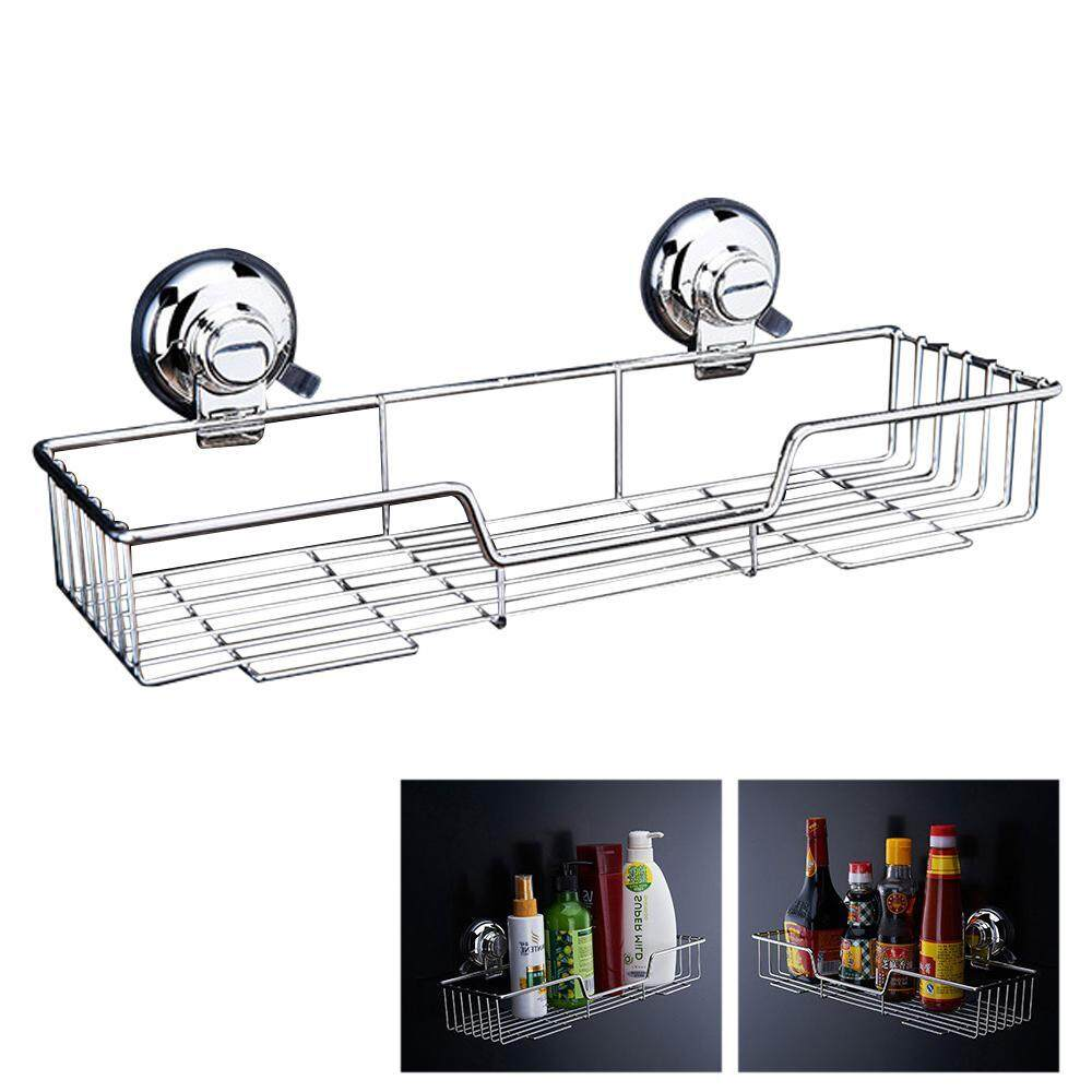 Auoker Vacuum Suction Cup Shower Caddy Bath Shelf Storage Combo Organizer Basket For Shampoo, Conditioner, Soap, Razor Bathroom Accessories
