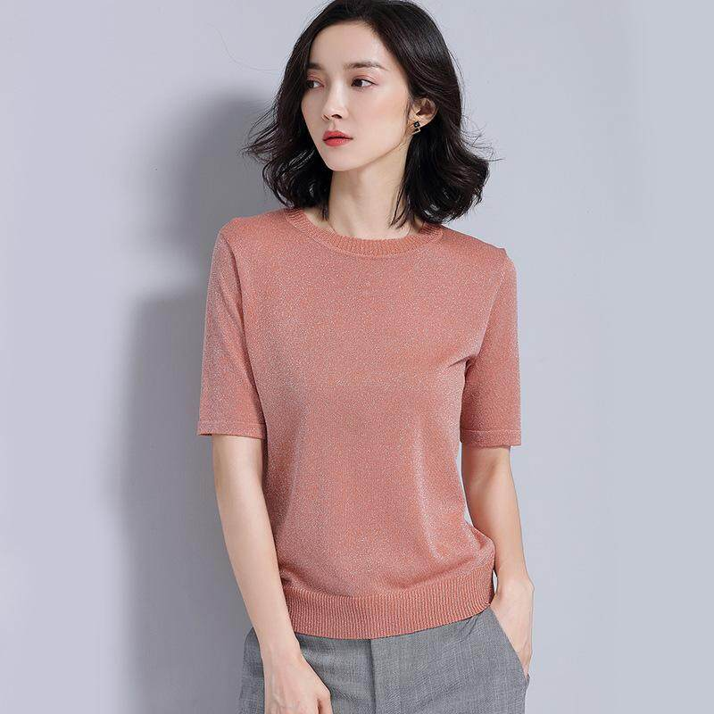 renda Korea Fashion Style lengan pendek t-shirt (. Source ·