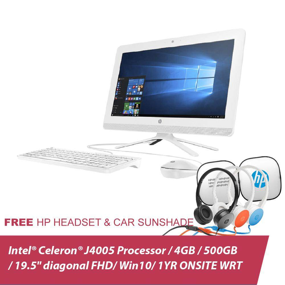 HP 20-c409d All-In-One PC 3JV03AA 19.45InchNON TOUCH + Free Headset