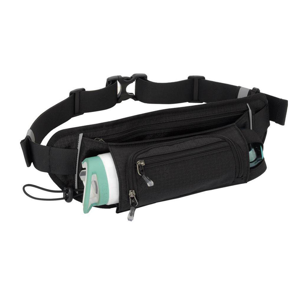 Fortunet Running Belt With Water Bottles Included (2 X 10oz) A Bounce-free