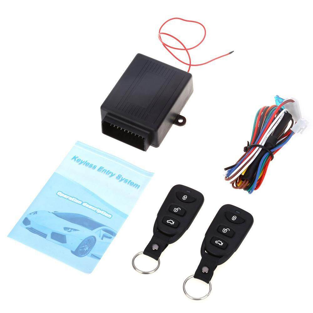 Universal Car Alarm Systems Remote Central Kit Door Locking Car Auto Keyless Entry System with Remote Control For Audi/Toyota