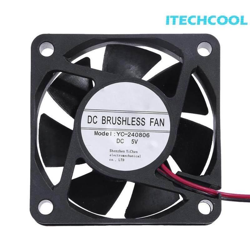 Bảng giá New YC-240806 DC 5V Cooler Fan 59x59mm 7 Blades Computer Cooling Fan Radiator(Black)- Phong Vũ