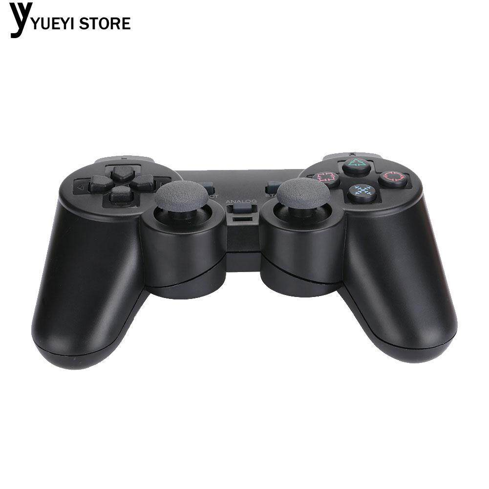 ... YYSL PS2 Playstation 2 Wireless Game Controller Joypad Black Button for PC - 5