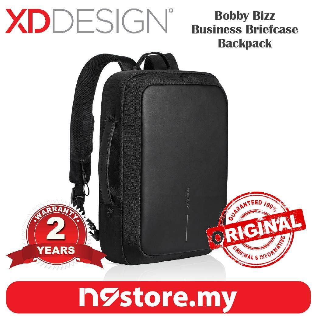 XD Design Bobby Bizz Anti-Theft Cutproof Business Briefcase Backpack