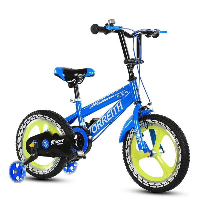 4e216864c Children Bicycle 3-6-9-Year-Old Baby Boys And Girls 16/14/12/18-Inch Kids  Bicycle Stroller Bicycle