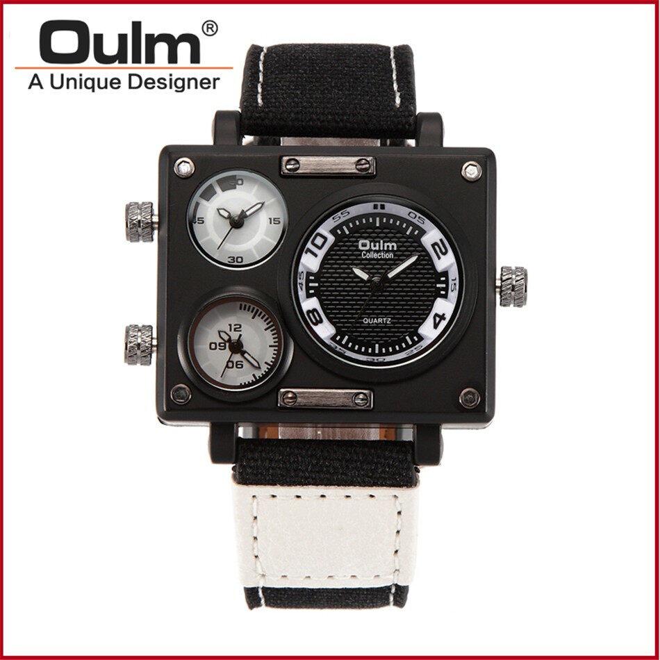 Oulm 3595 Men Quartz Watch--030